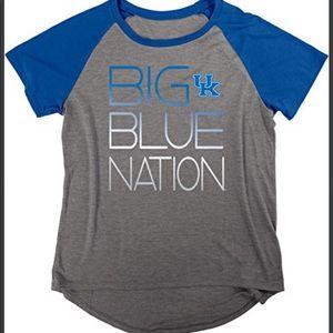 NCAA Kentucky Wildcats Short Sleeve Jersey Shirt